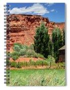 Historic Bicknell Grist Mill - Utah Spiral Notebook