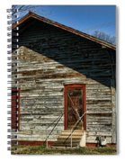 Historic Circa 1800s Railway Station Spiral Notebook