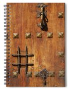 Historic Door Spiral Notebook