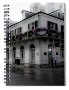 Historic French Quarter No 1 Spiral Notebook