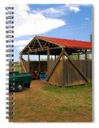 Historic Fruita District Barn Spiral Notebook