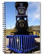 Historic Jupiter Steam Locomotive Spiral Notebook
