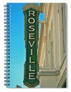 Historic Roseville California Spiral Notebook