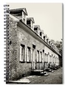 Historic Row Homes Allaire Village Spiral Notebook