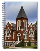 Historical 1901 Uab Spencer Honors House - Birmingham Alabama Spiral Notebook