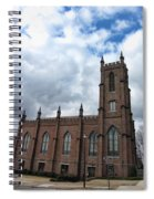 Historical 1st Presbyterian Church - Gates Avenue Se Huntsville Alabama Usa - Circa 1818 Spiral Notebook
