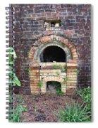 Historical Antique Brick Kiln In Morgan County Alabama Usa Spiral Notebook