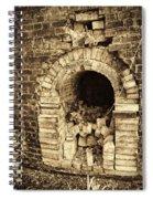 Historical Brick Kiln Oven Opening Decatur Alabama Usa Spiral Notebook