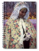 Hitchcock: The Bride, 1900 Spiral Notebook
