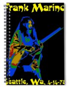 Hitting Cosmic Notes 2 Spiral Notebook