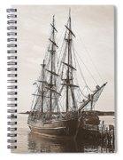Hms Bounty Spiral Notebook