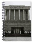 Ho Chi Minh Mausoleum Spiral Notebook