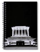 Ho Chi Minh Memorial At Night Spiral Notebook
