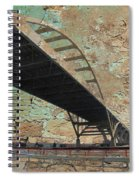 Hoan Bridge And Brick Spiral Notebook