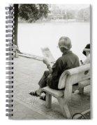 Hoan Kiem Lake Spiral Notebook