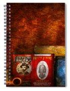 Hobby - Smoker - Smoking Pipes  Spiral Notebook