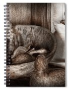 Hobby - Wood Carving - Wooden Toys Spiral Notebook