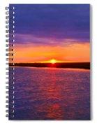 Hobcaw Barony Sunrise Spiral Notebook