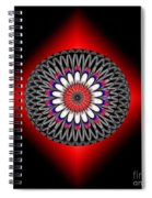 Hoberman Sphere Spiral Notebook