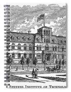 Hoboken: College, 1878 Spiral Notebook
