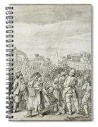 Hogarth: Industry, C1751 Spiral Notebook