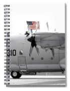Hoisting The Colors Spiral Notebook