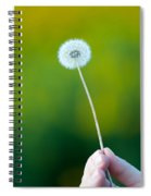 Holding On To The Last Days Of Summer Spiral Notebook