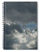 Hole In The Clouds Spiral Notebook