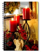 Holiday Candles Hcp Spiral Notebook
