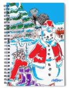 Holiday Dip Spiral Notebook
