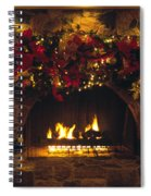 Holiday Hearth Spiral Notebook