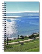Holiday Horizon Spiral Notebook