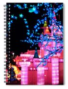 Holiday Lights 8 Spiral Notebook