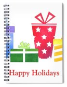 Holiday Presents Spiral Notebook