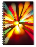 Holiday Rush Spiral Notebook