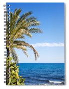Holidays By The Sea Spiral Notebook