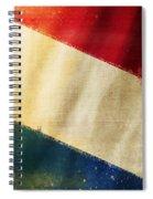 Holland Flag Spiral Notebook