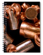 Hollow Point Bullets Spiral Notebook