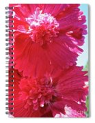Hollyhock Duet Spiral Notebook