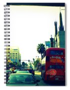 Hollywood Boulevard In La Spiral Notebook