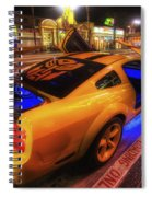 Hollywood Bumblebee Spiral Notebook