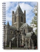 Holy Trinity Cathedral Dublin Spiral Notebook