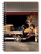 Home Delivery Family Market Spiral Notebook
