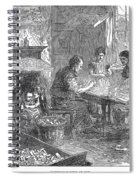 Home Industry, 1871 Spiral Notebook