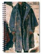 Homer: Soldier, 1864 Spiral Notebook