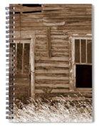 Homestead Past Spiral Notebook