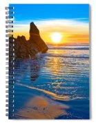 Honda Cove Sunset Spiral Notebook