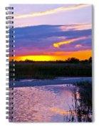 Honeymoon Island Sunset Spiral Notebook