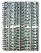 Hong Kong Residential Building Spiral Notebook