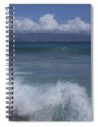 Honokohau Aloalo Aheahe D T Fleming Beach Maui Hawaii Spiral Notebook